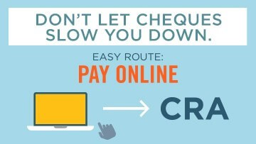 Image of Make a payment to CRA